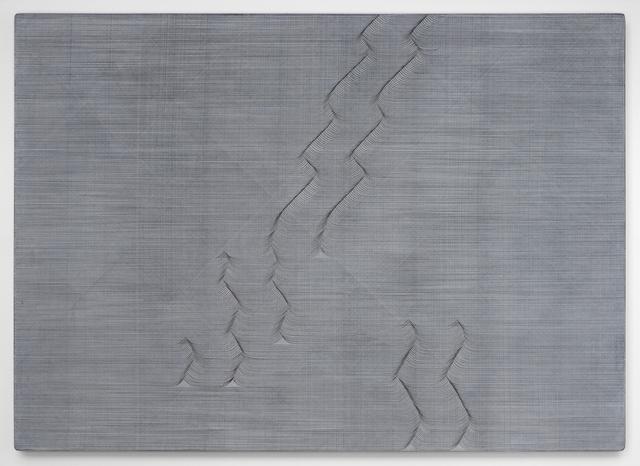 , 'Long Ending (White),' 2017, Bartha Contemporary