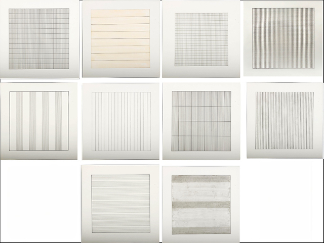 , 'Suite of 10 (Ten) Original Lithographs on Vellum Parchment from Stedelijk Museum, Amsterdam,' 1990-1991, Alpha 137 Gallery