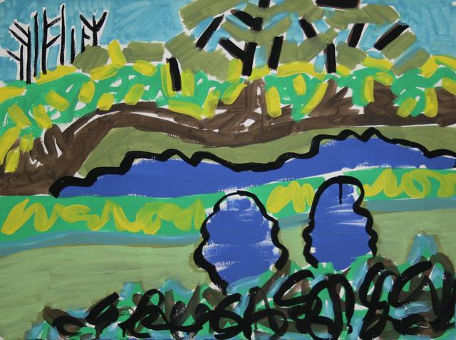 , 'Paper Landscape #7 ,' 2016, Bruno David Gallery & Bruno David Projects
