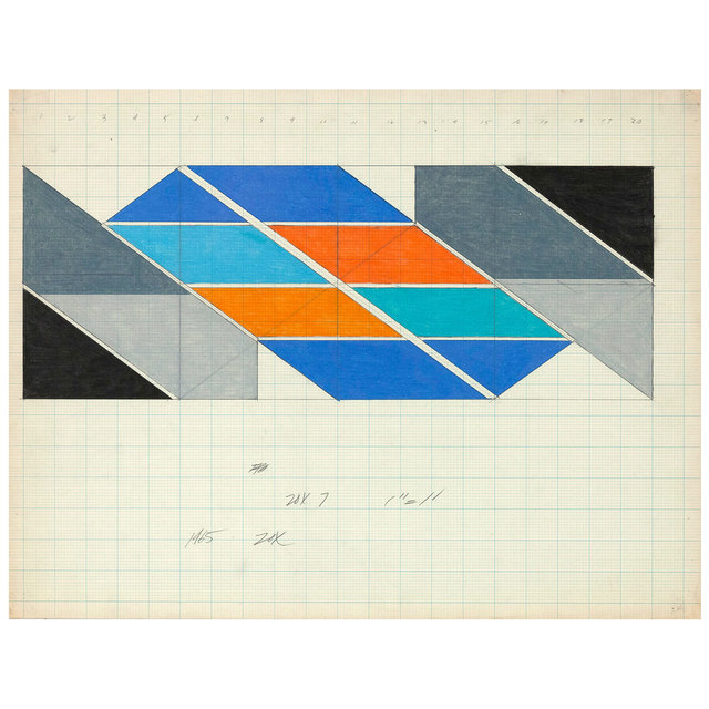 Larry Zox, '(Untitled) Edmonton', 1965, Caviar20