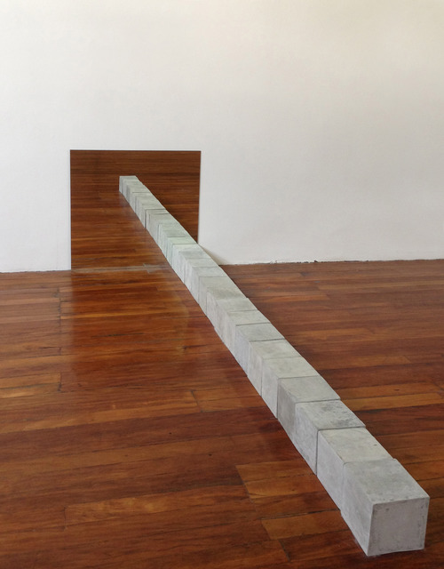 , '6,12 MetrosHorizontal,' 2013, Gallery Nosco