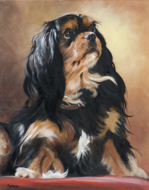 , 'King Charles Spaniel,' 2007, Dog & Horse Fine Art