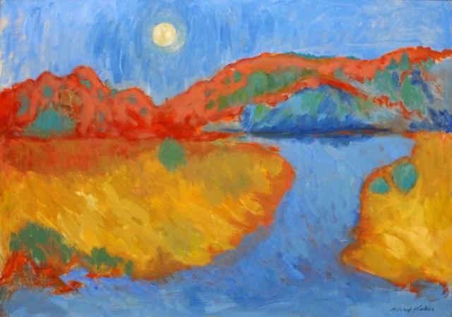 , 'Red Dunes,' ca. 1960, Richard Norton Gallery