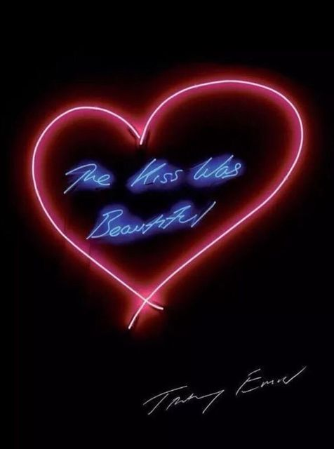 Tracey Emin, 'The Kiss Was Beautiful', 2015, Posters, Poster on 250 gsm silk finish paper, EHC Fine Art