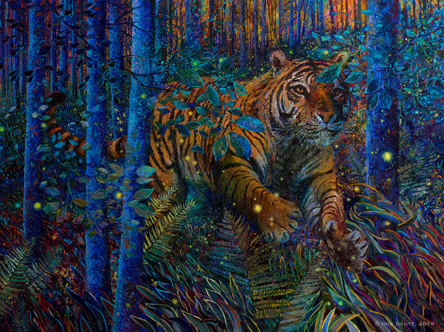 Iris Scott, 'Tiger Fire', 2019, Filo Sofi Arts