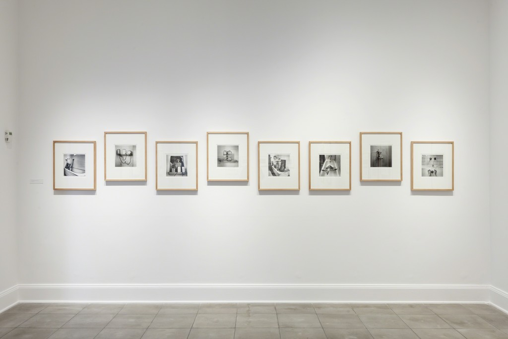 Installation view of Graciela Iturbide