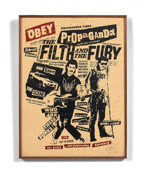 , 'The filth and the fury ,' 2006, NextStreet Gallery