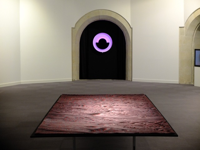 , 'Inverted relief (The Candor chasma's flying carpet),' 2016, Galerie Charlot