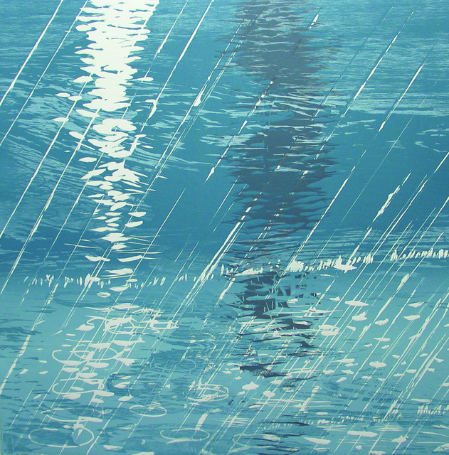 , 'Rain on Water,' 2009, Albert Merola Gallery