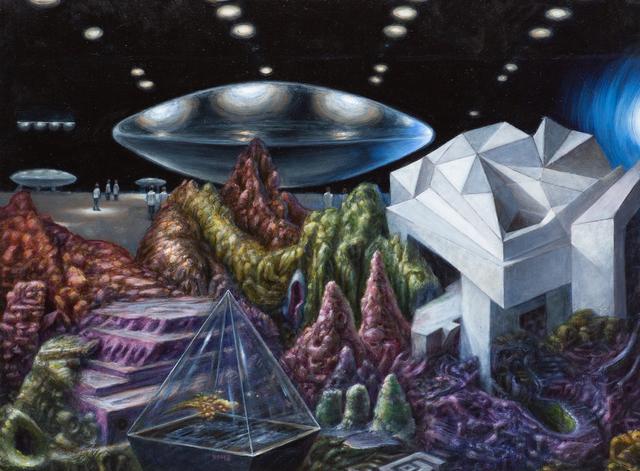 , 'Groom Lake - Hollow Earth Series,' 2019, Mirus Gallery