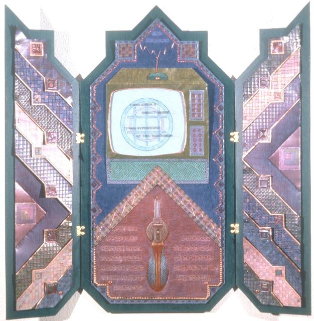 ", 'EIKONS - #II: ...""I was hypnotized""...,' 1990-1992, Cerulean Arts"