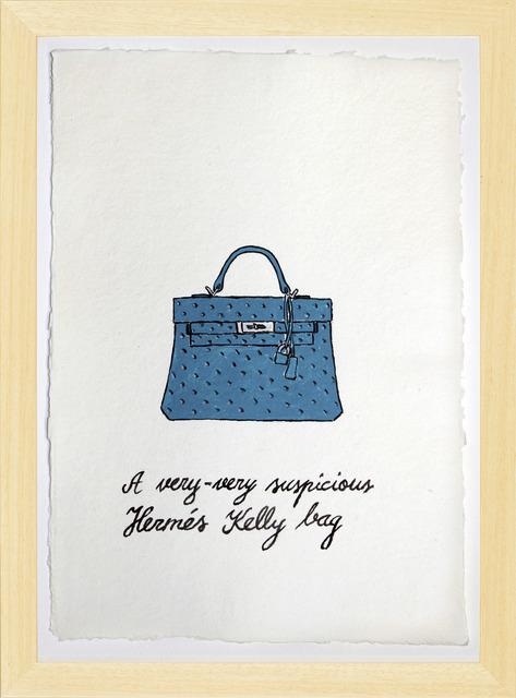 , 'Suspicious Bags: Hermes Kelly Bag,' 2018, Temnikova & Kasela