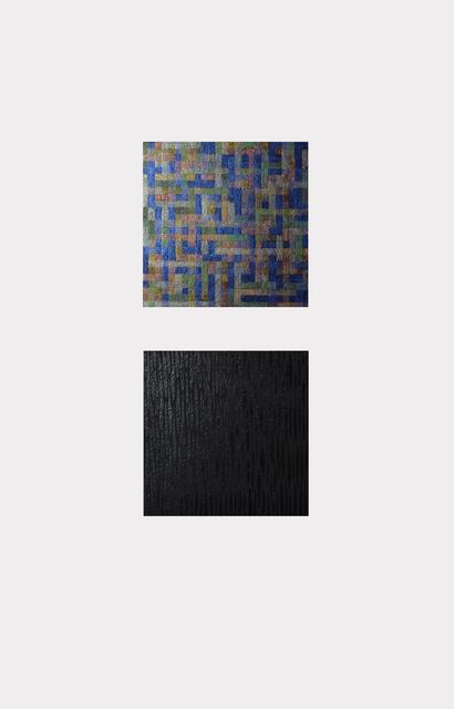 , 'DM2,' 2016, BERLIN BLUE art
