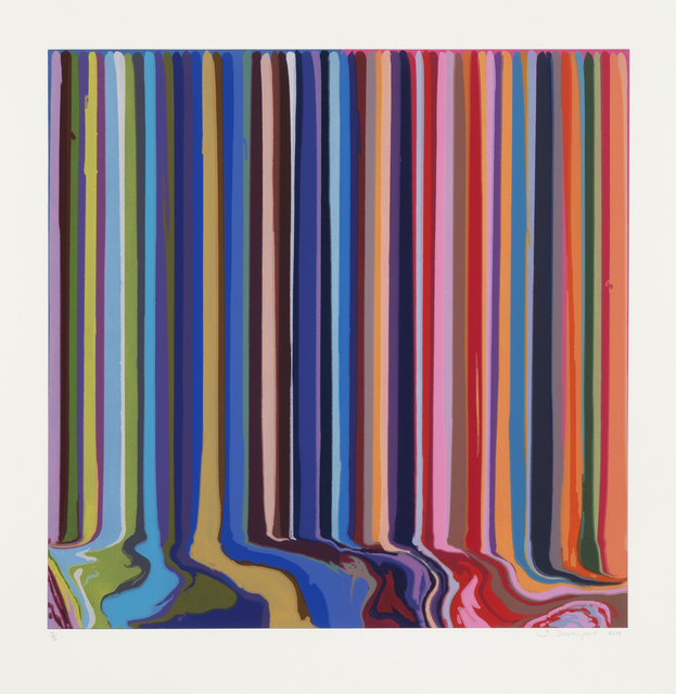 , 'Duplex Etching : Blue, Pink,' 2014, Galerie Maximillian