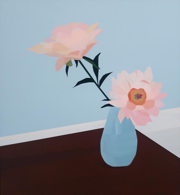 Greta Van Campen, 'Peonies, Dining Room', 2019, Gallery BOM