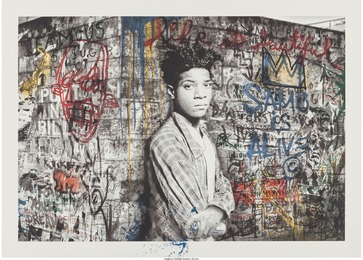 Mr. Brainwash, 'Samo is alive (Basquiat),' 2016, Heritage Auctions: Valentine's Day Prints & Multiples