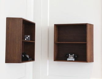 Three Bookshelves for La Maison du Brésil, Cité Internationale Universitaire de Paris