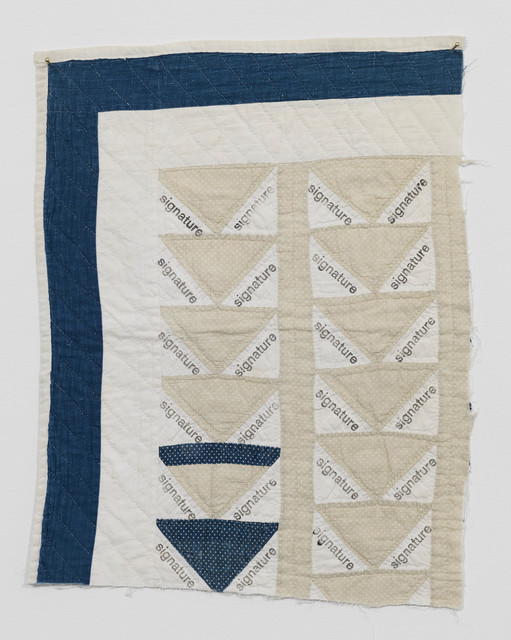 , 'Signature Quilt III,' 2018, Galerie Fons Welters