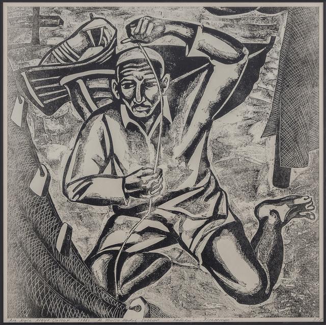 , 'Fishermen,' 1988, Hafez Gallery