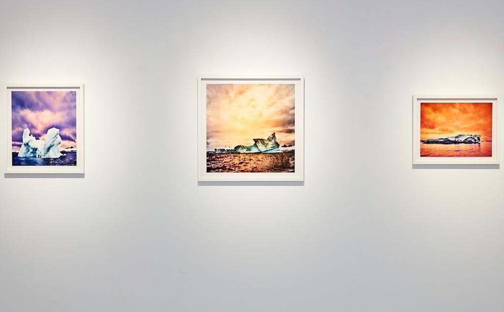 Osceola Refetoff's pinhole camera works  shown at Von Lintel Gallery, Los Angeles