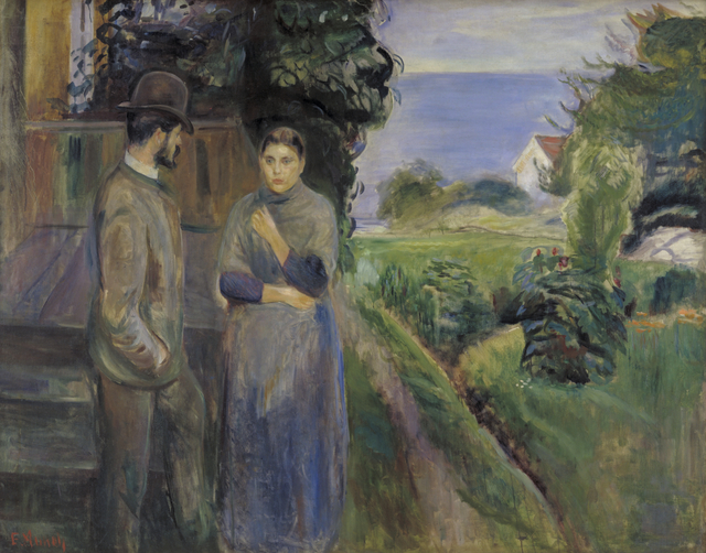 , 'Summer Evening,' 1889, Statens Museum for Kunst