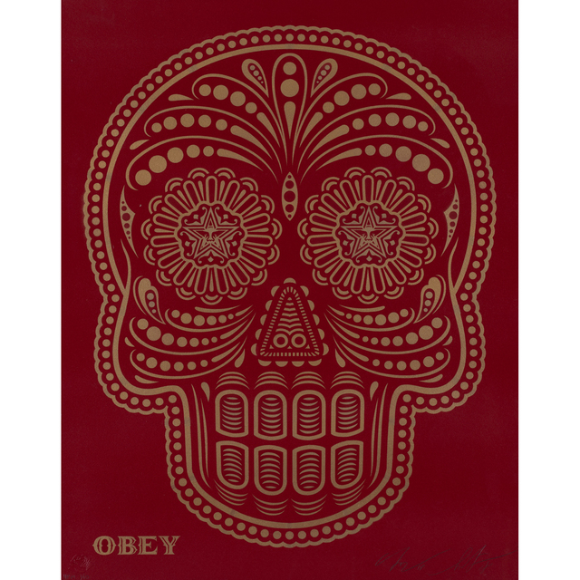 Shepard Fairey, 'Day of the Dead Skull', 2018, PIASA