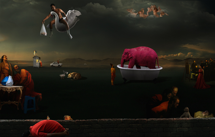 Pink Elephant in Bath Tub and Other Stories