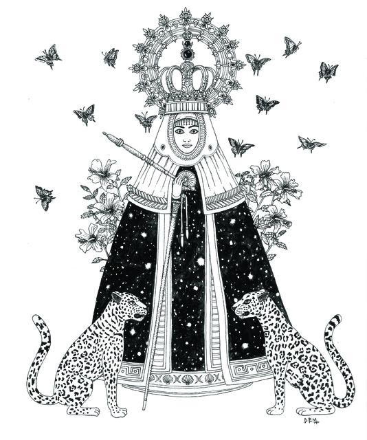 , 'Vergine di Guadalupe,' , Galleria Varsi