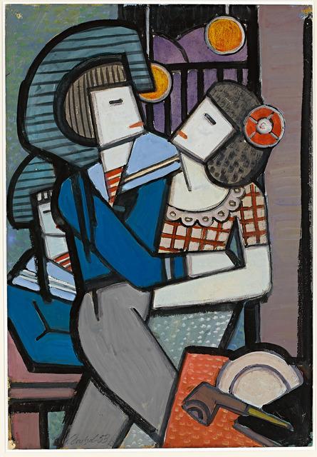 , 'Paar,' 1930, Galerie Herold