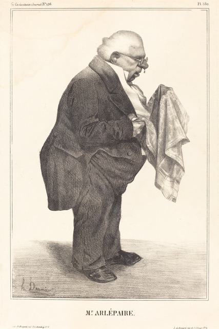 Honoré Daumier, 'Harlé père', 1833, National Gallery of Art, Washington, D.C.