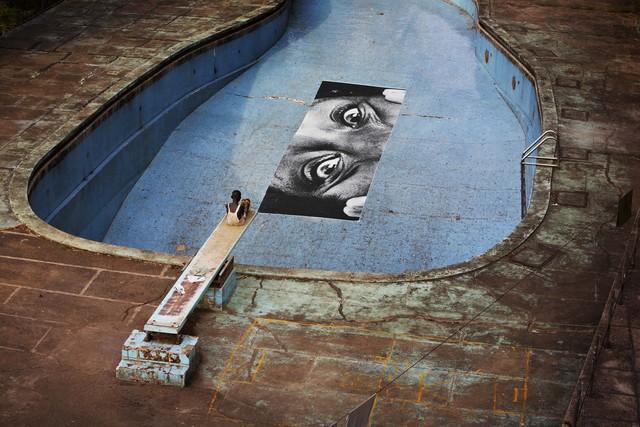 , '28 Millimètres, Women are Heroes, Swimming Pool, Intercontinental Hotel, Horizontal, Monrovia, Liberia,' 2008, Hong Kong Contemporary Art