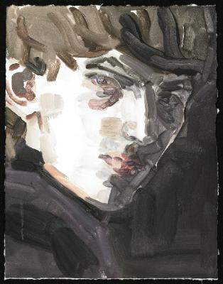 Elizabeth Peyton, 'George Harrison I', 2011, Print, Monotype on handmade paper, with deckled edges, Artsy x Rago/Wright
