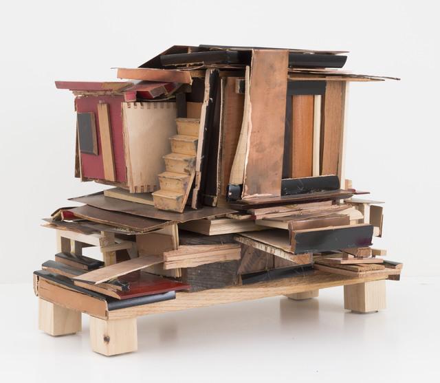 , 'House from Scraps,' 2011, MARTOS GALLERY