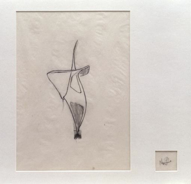 , 'Study for a Construction (D74),' 1940s, Annely Juda Fine Art