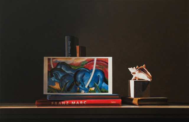 , 'Still Life with Franz Marc,' 2018, Dolby Chadwick Gallery