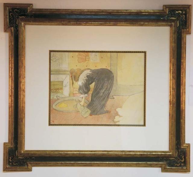 Henri de Toulouse-Lautrec, 'Femme au Tub', ca. 1896, Contessa Gallery
