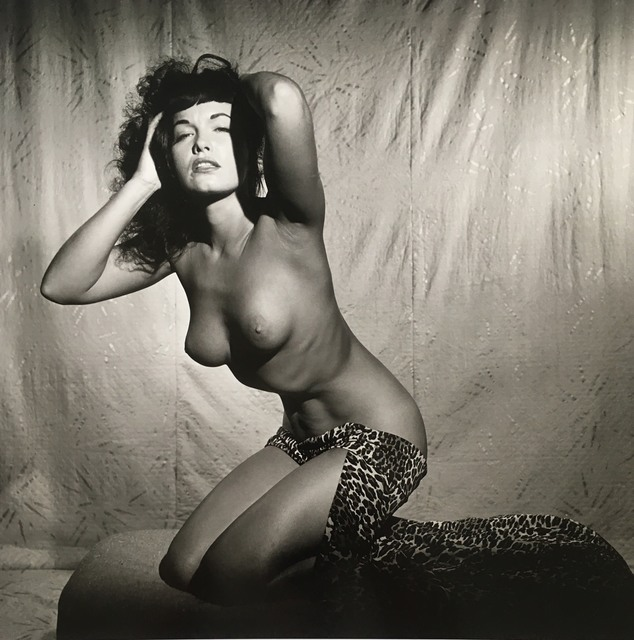 Bunny Yeager, 'Bettie Page Topless in Studio', 1954, The Art Design Project