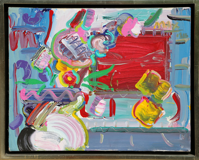 Peter Max, 'Flower Pot and Window', 1986, RoGallery