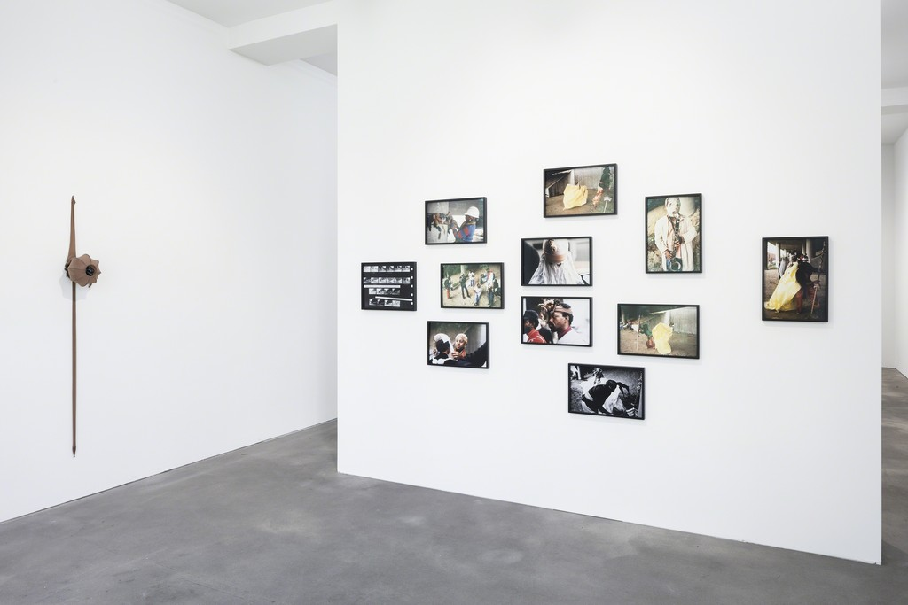Installation view, Senga Nengudi, Sprüth Magers, Berlin, April 28 - September 8, 2018;