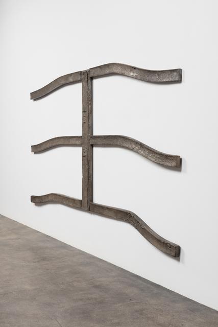 , 'Double E,' 2017, Maccarone