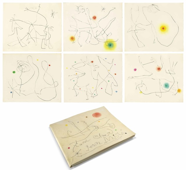 Joan Miró, 'René Char: Flux de l'Aimant', 1964, Christie's