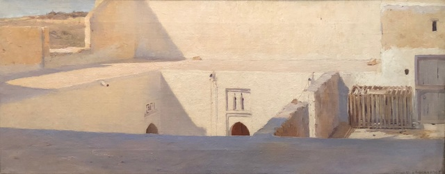 , 'Terraces at Tangier,' 1887, DICKINSON