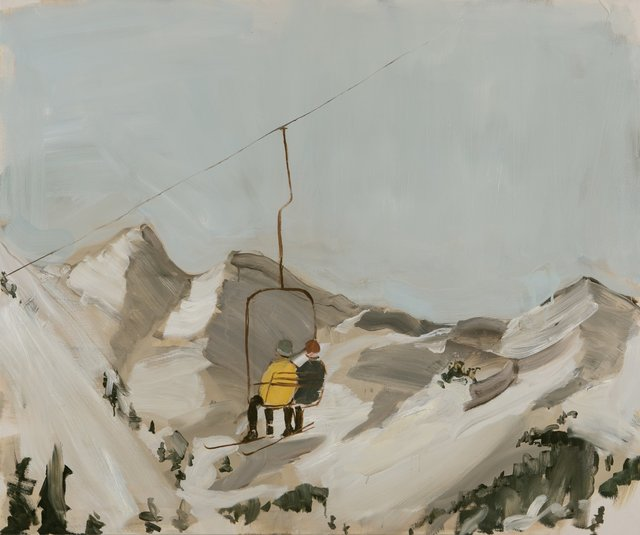 , 'On the Chairlift,' 2013, Hosfelt Gallery