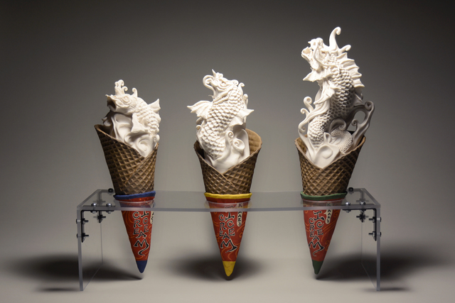 Kazume Sambe, 'Small, Medium, Large', 2017, Yun Gee Park Gallery