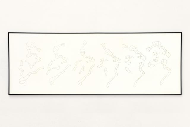 , 'Skelette der Stimmen, Part Ⅲ (pt. 3),' 2018, Micheko Galerie