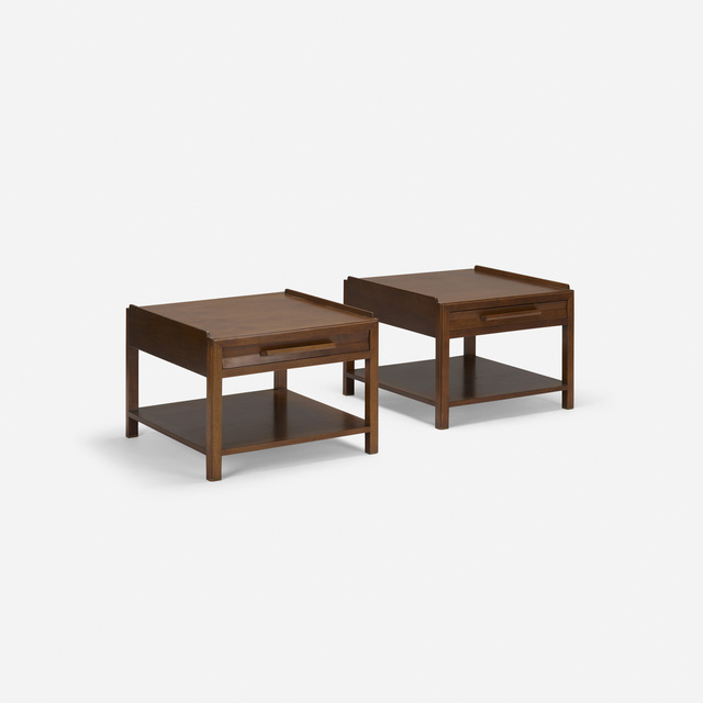 Edward Wormley, 'Nightstands, pair', c. 1967, Wright