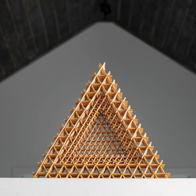 , 'Triangular Dish,' 1998, browngrotta arts