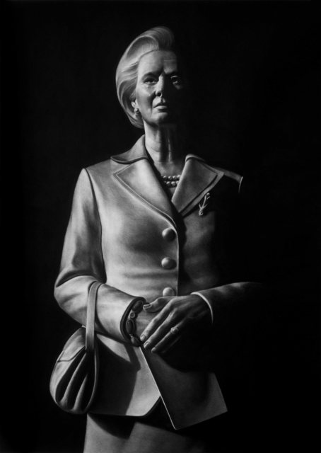 ", 'Serie Power: ""Margaret Thatcher,' 2016, Victor Lope Arte Contemporaneo"