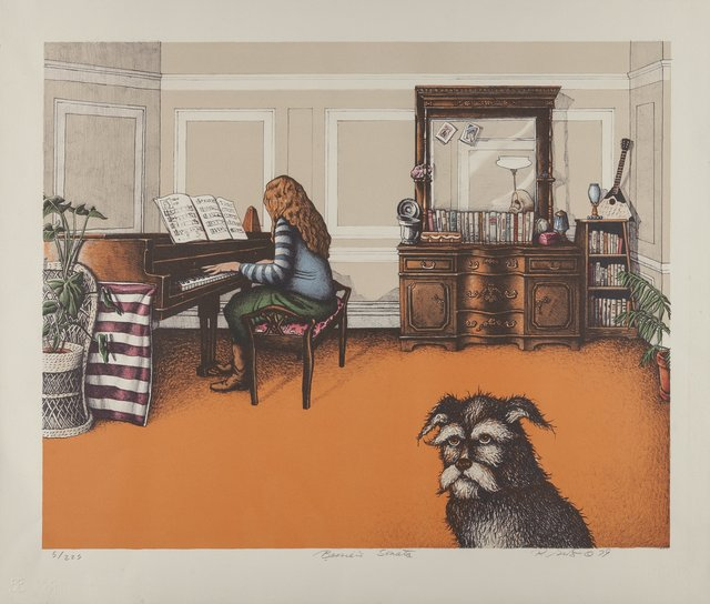 Richard Grote, 'Bessie's Sonata and Cat's Pause', 1979, Heritage Auctions