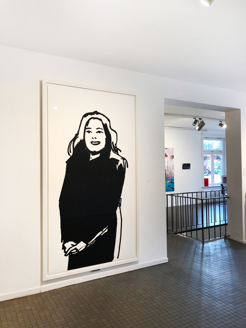 Alex Katz, 'Shopper #6', 2015, Print, Silkscreen on paper, Galerie Schimming